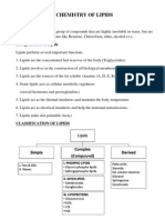 Chmistry of Lipids-2012