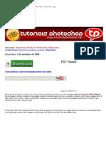 Tutoriais Photoshop Como Melhorar o Aspecto de Imagens Tiradas Com Celular
