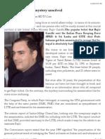 Rajiv Assassination Mystery Unsolved