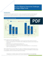 Due Diligence Early Stage Hedge Funds