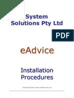 eAdvice Installation Instructions