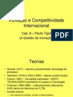 SF - Cap 8 Tigre - Inovação e Competitividade Internacional