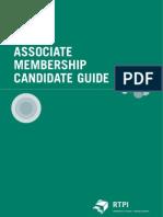 Associate Membership Candidate Guide