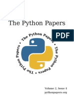 The Python Papers Volume 2, Issue 4