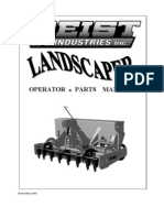 Campey - Raycam Landscaper - Operators & Parts Manual