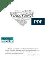 Palestra Religiões e crenças paRTE II