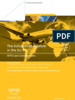 The Inclusion of Aviation in the EU ETS