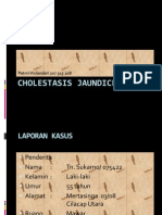 Cholestasis Jaundice Power Point