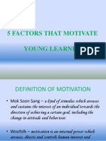 5 Factors That Motivate Young Learner