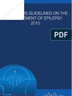 Consensus Guidelines on the Management of Epilepsy 2010