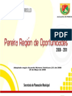 Plan de Desarrollo Pereira 2008-2011