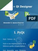 pyqt - qtdesigner