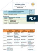 Conference Schedule - 02-March (Without Links)
