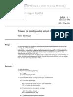 DTU-11-1_CCH_SONDAGE-SOLS