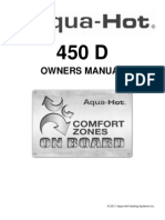 Aqua-Hot 450D Owners Manual