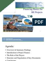 US DoE-Financing Basics Renewables Briefing