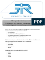 800_SIR - Oefenvragen tie Management