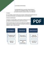 Sistemas de Informação em um Projeto de Gestão Urbana