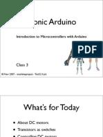 Bionic Arduino Class3