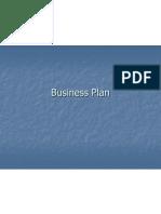 Business Plan Class