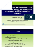 Use of nasal and buccal cells in human biomonitoring studies for the detection of cytotoxic and DNA-damaging chemicals by Siegfried Knasmüller