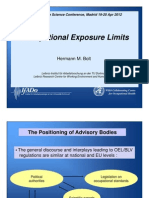 Occupational Exposure Limits by Hermann Bolt
