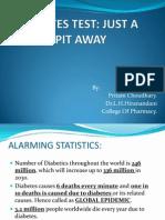 Diabetes Test Rx