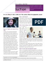 Abduction Leaflet