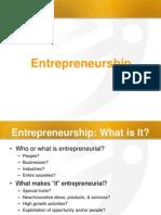 Entrepreneurship 1 Class
