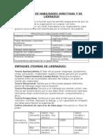 Resumen de des Directivas y de Liderazgo