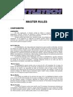 Master Rules Modificado