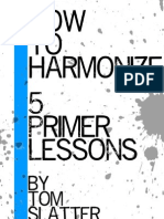 Tom Slatter - How to Harmonize PDF