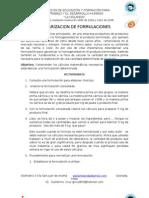 estandarizacion de formulaciones