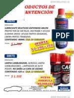 Catalogo Productos de Mantencion