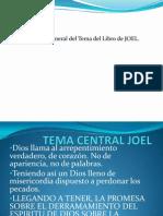 Tema Central Joel Trabajo en Clase