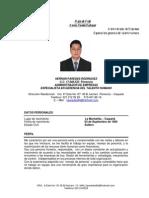 HOJA DE VIDA 2012