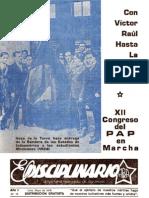 El Disciplinario, Año I, N° 10, Lima, mayo de 1979