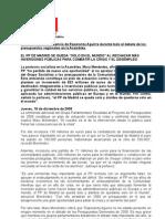 PP Rechaza Plan Actuación Contra Crisis 18.12.08