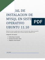 Instalar MySQL en Ubuntu