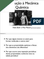 (cap. 4) Introdução à Mecânica Quântica