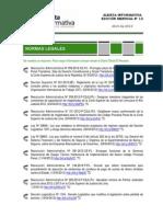 Alerta Informativa N° 12 Abril 2012