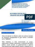 Actores Sociales y Grupos de Interes-2