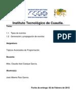 Investigacion de Topicos Avanzados de Programacion