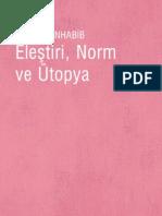 57168361 Seyla Benhabib Elestiri Norm Ve Utopya