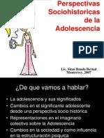 Perspectivas Sociohistoricas de La Adolescencia