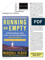 Running on Empty ... A Journey from California to New York