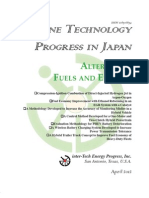 Engine Technology Progress In Japan - Alternative Fuels/Engines