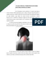 Artigo_20_problemas Na Coluna Cervical Podem Provocar Dores