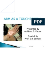 Arm as a Touchscreen,Skinput