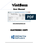 PrintBoss Standard-Enterprise Manual
